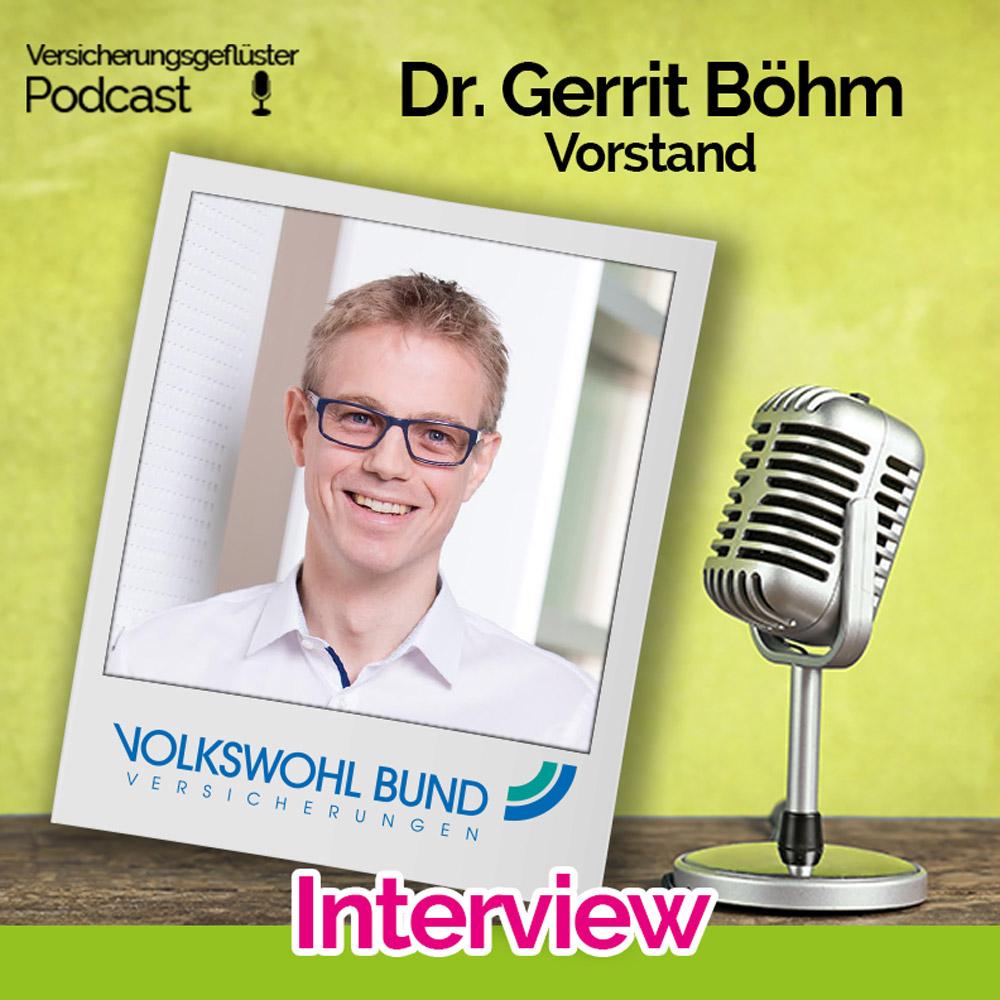 Dr. Gerrit Böhm - Coverbild - Versicherungsgeflüster Podcast - Episode 79