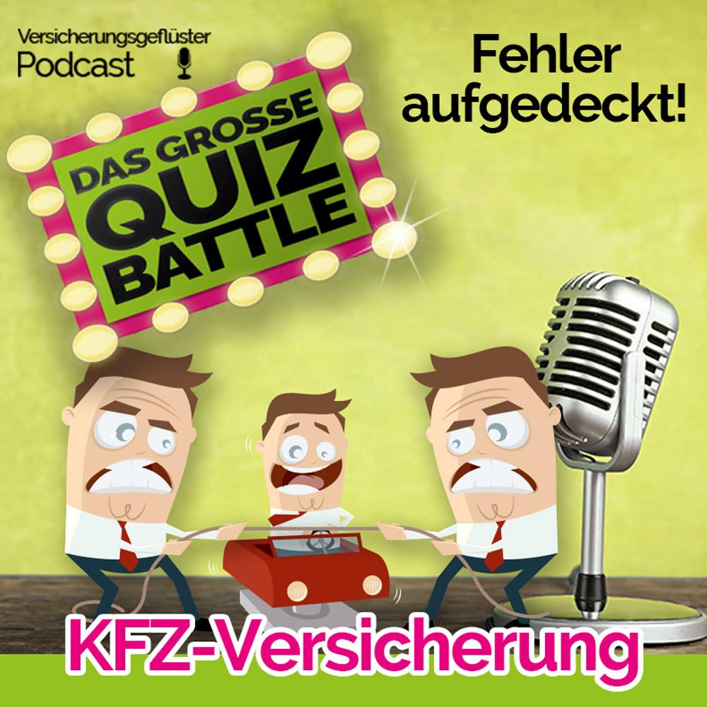 KFZ-Versicherung Quiz-Battle beim Versicherungsgeflüster