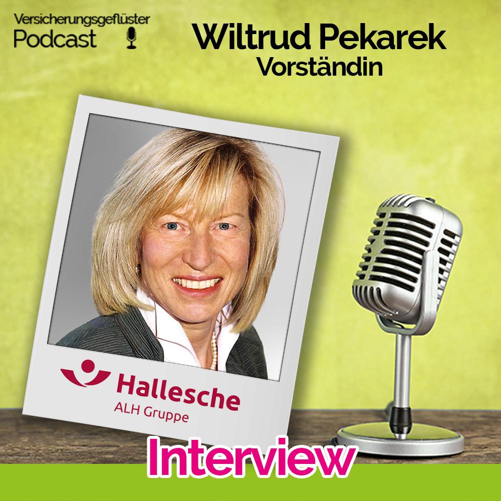 Wiltrud Pekarek - Vorständin Hallesche - ALH Gruppe